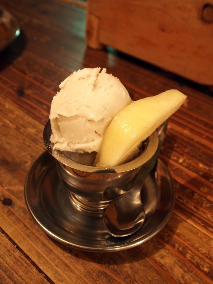 ハルヒナスパイスのココナッツアイス