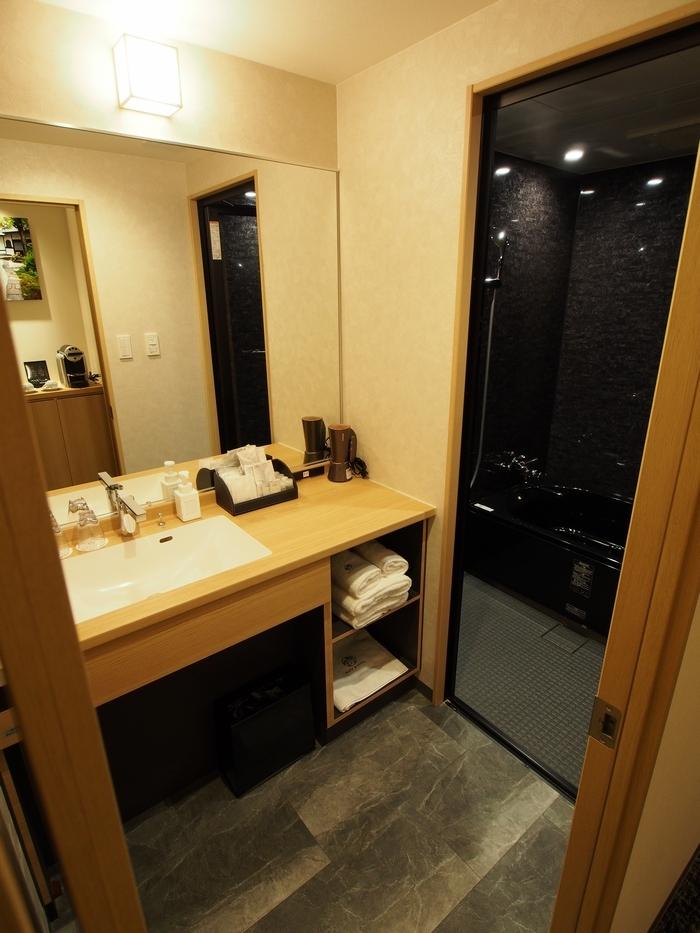 ホテル椛京都三条 バスルーム