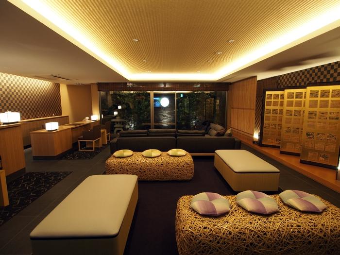 ホテル椛京都三条 ロビー