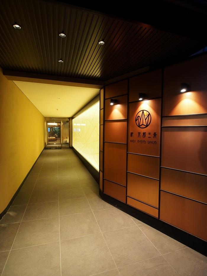 ホテル椛京都三条 入口