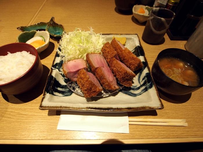 いながき 煌麦豚ヒレかつ定食